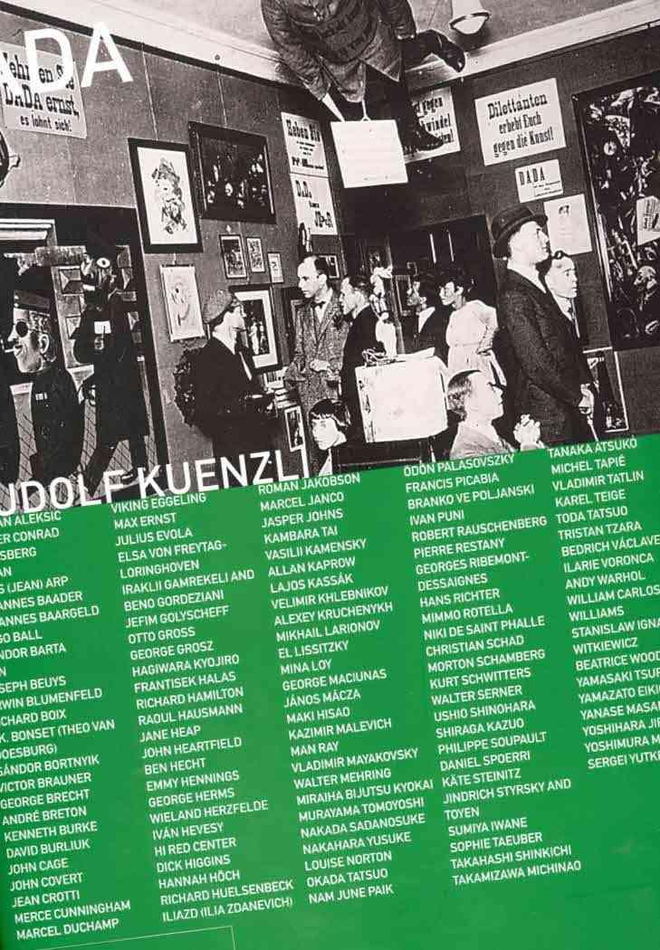 Dada By Kuenzli, Rudolf